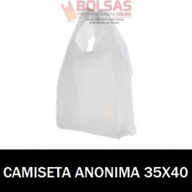 BOLSAS ASA CAMISETA ANÓNIMAS 35X45