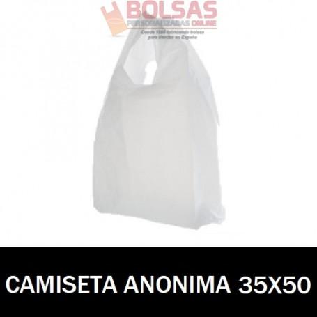 BOLSAS ASA CAMISETA ANÓNIMAS 35X50